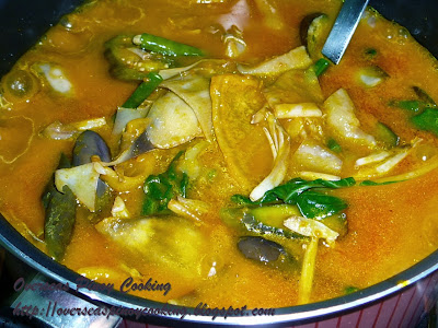 Kare-Kare, Beef Tripe - Cooking Procedure