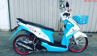 Modifikasi Motor Honda Beat Terbaru di Indonesia