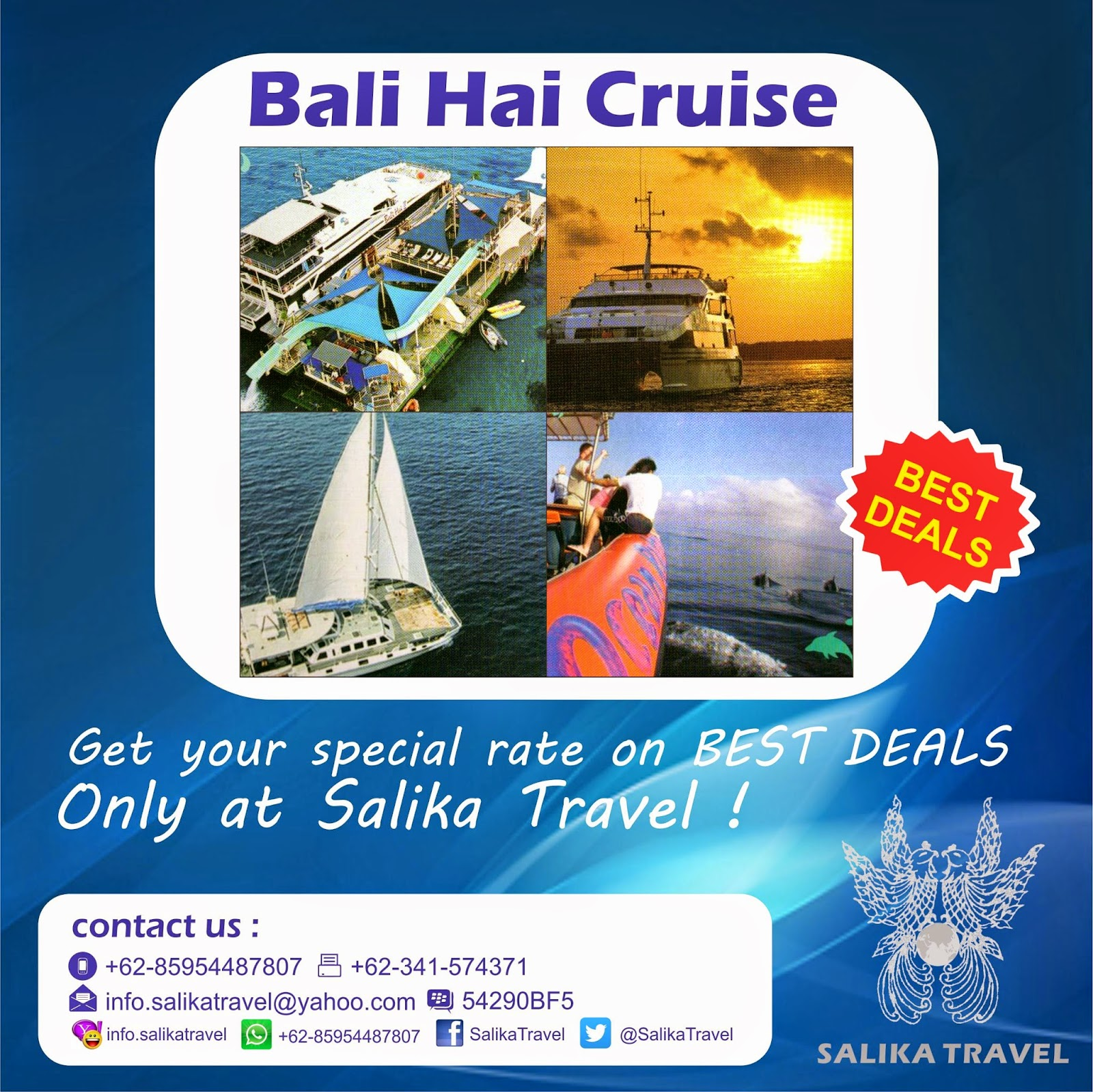Bali Hai Cruise - Salika Travel