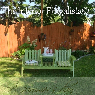 A Summer's Day On The Outdoor Tete-A-Tete Makeover