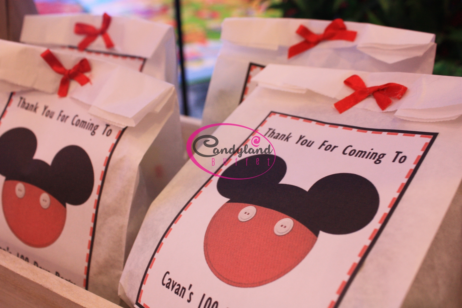 Mickey Mouse 100 Days Theme | Candyland Buffet