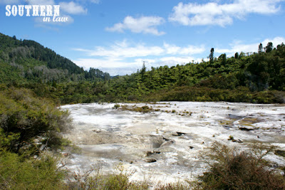 Silica Terraces at Orakei Korako Geothermal Experience Taupo New Zealand
