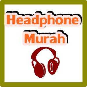 ilustrasi tulisan headphone murah