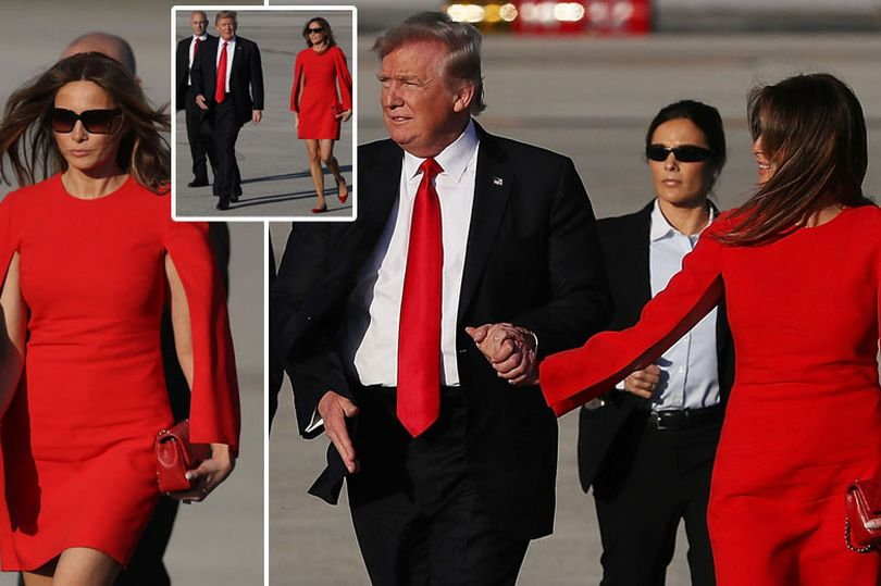 , Donald Trump DROPS Melania's hand at her first public appearance, Latest Nigeria News, Daily Devotionals & Celebrity Gossips - Chidispalace
