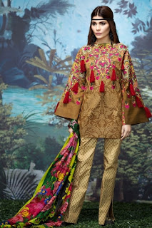 Sana Safinaz Lawn 2017-18 Summer Collection With Price