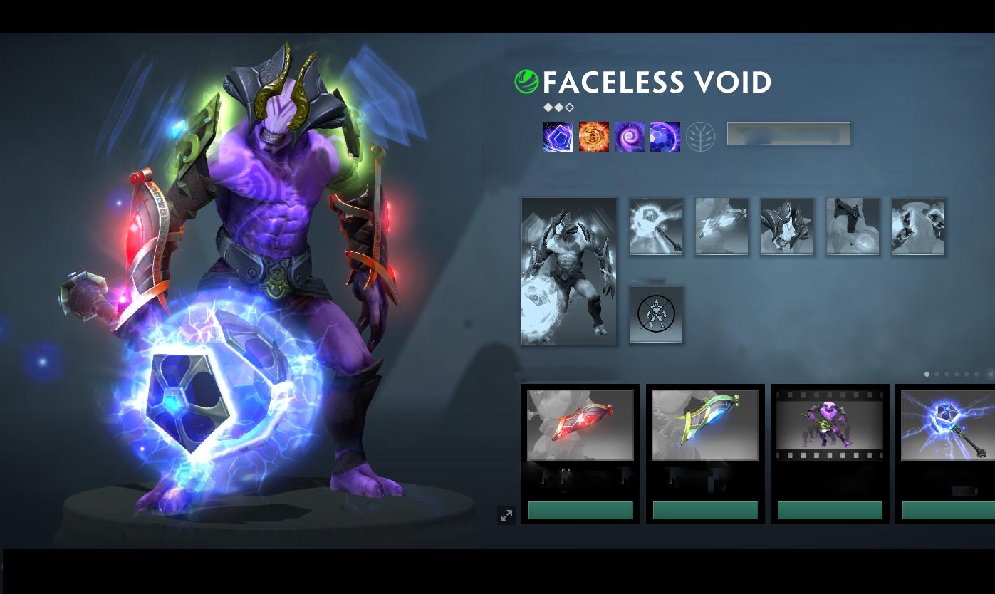 mix faceless void 2018 mod skin dota