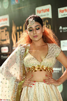 Apoorva Spicy Pics in Cream Deep Neck Choli Ghagra WOW at IIFA Utsavam Awards 2017 77.JPG