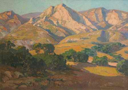 Art Contrarian Franz Bischoff Best California Impressionist