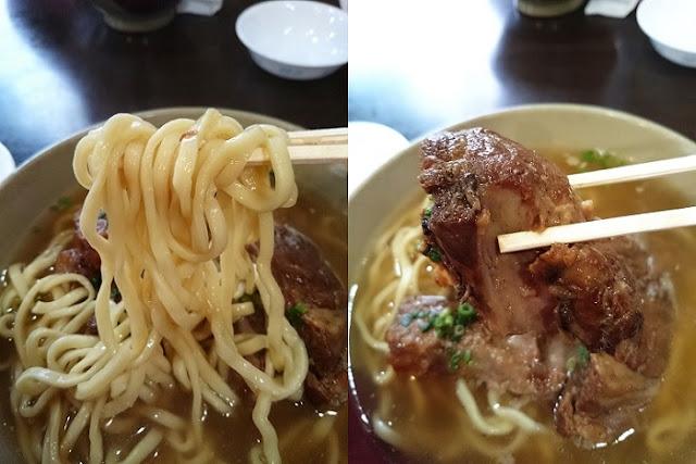 自家製麺と本ソーキの写真