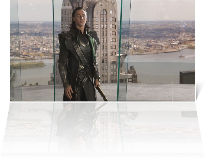 Loki in The Avengers 2012 movieloversreviews.filminspector.com