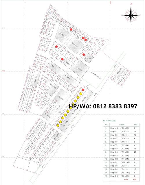 Site Plan Tanah Kavling Mulai 89 Jutaan Bisa KPR Di Johor Baru Regency Medan Sumatera Utara