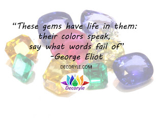 George Eliot Jewellery Quote