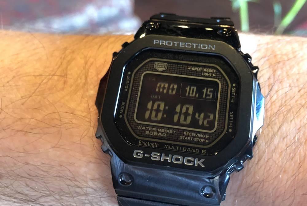 Jam Tangan Casio G-Shock bisa Dihubungkan ke Smartphone (techcrunch.com)
