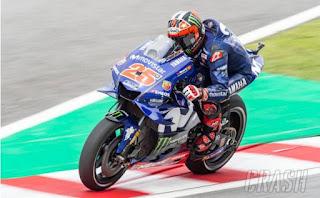 Hasil Pemanasan MotoGP Malaysia: Vinales, Rossi, Miller
