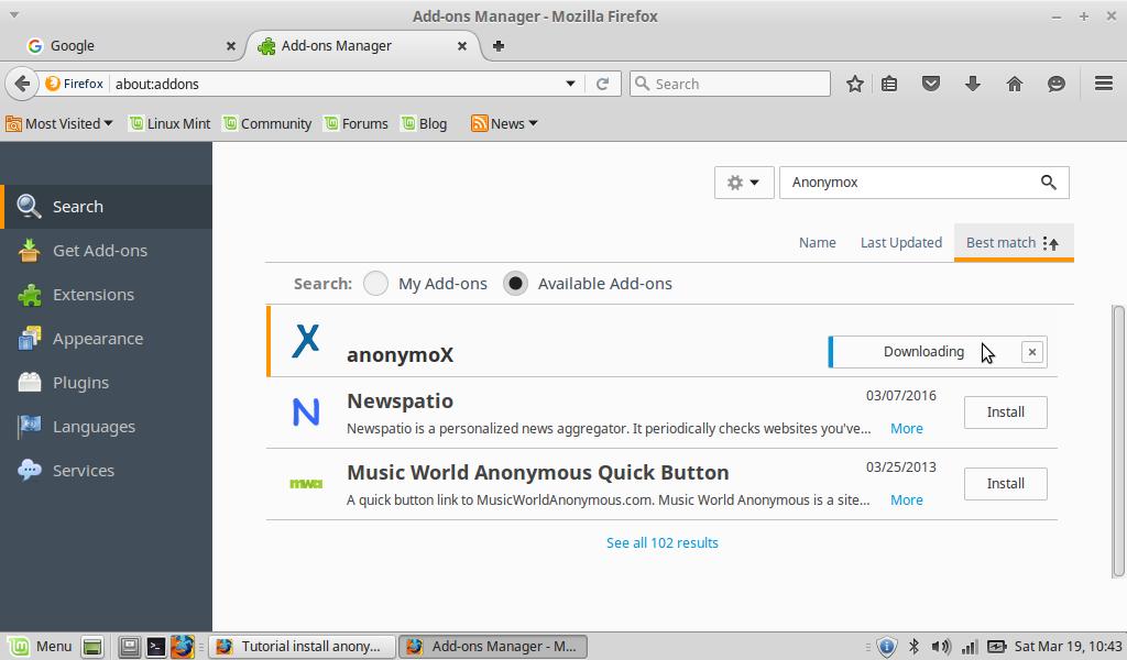 Tutorial Installasi Anonymox di Mozilla ~ faris hidayat