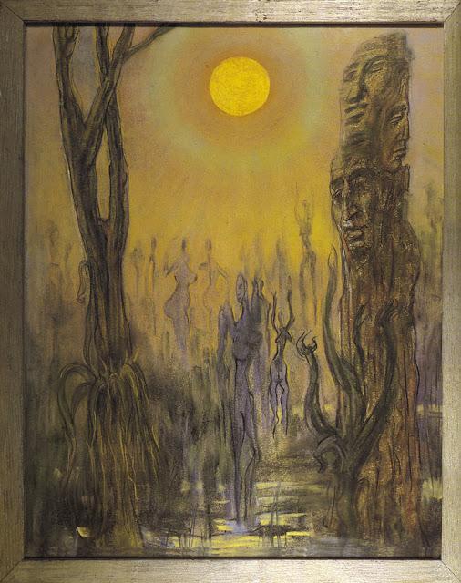 Austin Osman Spare, Pintura, Arte, Art, Draw, Ocultismo, Ocultism