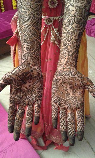 Bridal Mehndi Quotes : Best latest bridal mehndi designs for hands full