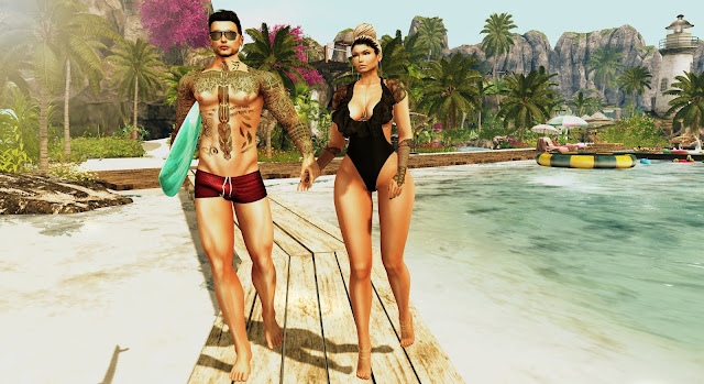 ♥Strolling on the beach♥