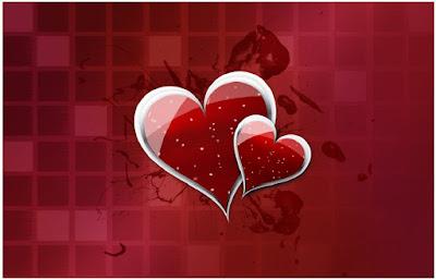 خلفيات قلوب حب جميلة HD