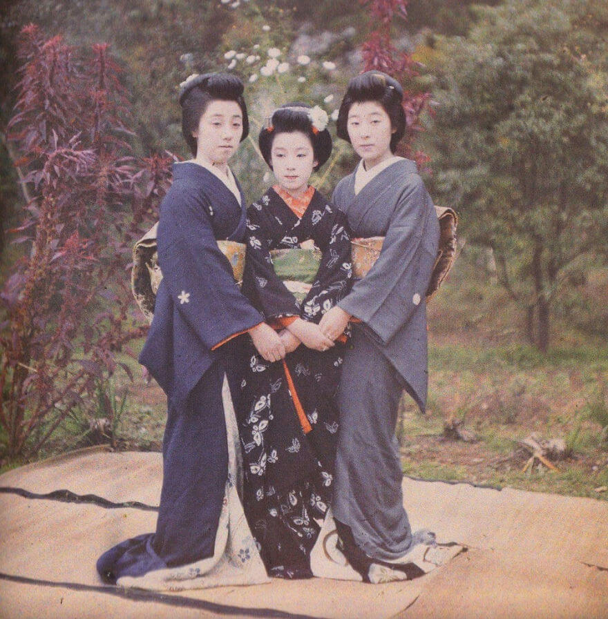 40 Old Color Pictures Show Our World A Century Ago - Japan, Kyoto, 1912