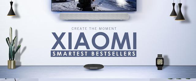 Promoção dos produtos mais vendidos da XIAOMI na Gearbest