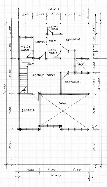 2nd floof plan of home image 11
