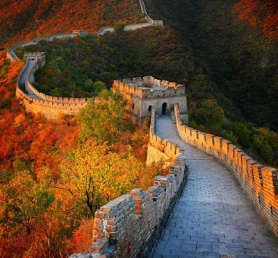 Section of the real Great Wall
