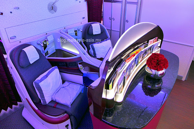 Qatar Airways Business Class Couple Seats