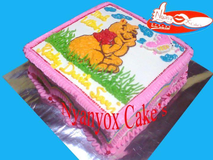 Nyanyox Cake S Edisi Kartun Cake S