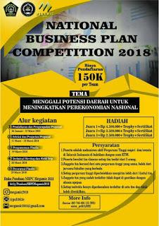 Lomba Bisnis Plan Nasional 2018 di Unissula Semarang