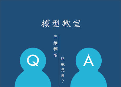 【模型教室】Q2. 三維模型包含了哪些組成元素?