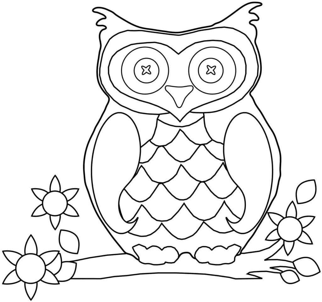 Gambar Wallpaper Burung Hantu Kartun