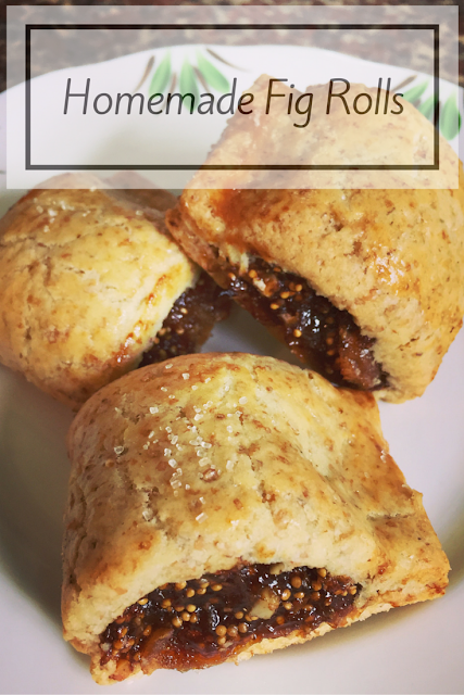 Homemade Fig Rolls Recipe
