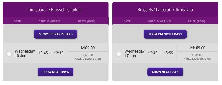 bilet-avion-ieftin-timisoara-bruxelles-wizz-discount