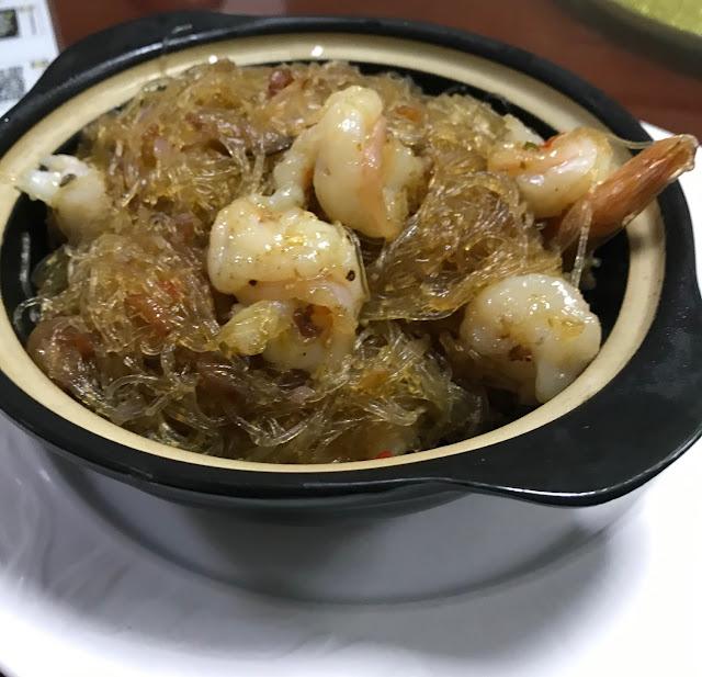 Little Si Chuan Xiao Sichuan, Mauritius, prawn and vermicelli clay pot