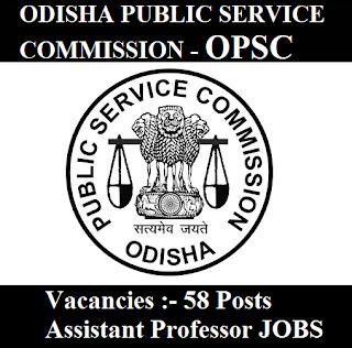 Odisha Public Service Commission, OPSC, Orissa, Odisha, PSC, Post Graduation, Assistant Professor, freejobalert, Sarkari Naukri, Latest Jobs, opsc logo