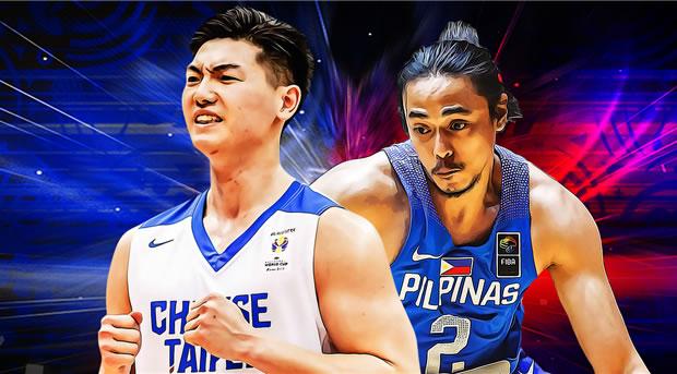 LOOK: Chinese Taipei 18-man pool vs Gilas Pilipinas 2018
