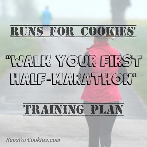 Walk Your First Half Marathon Training Plan