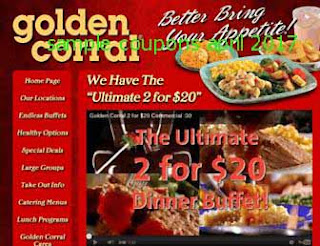 Golden Corral coupons april