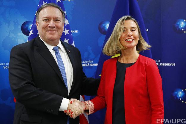 Помпео та Могеріні обговорили важливість реформ в Україні