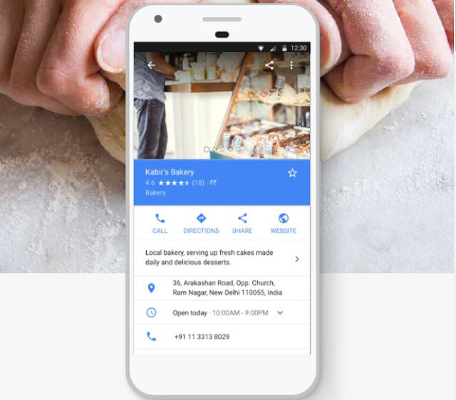 Attract new customers with your Google listing.