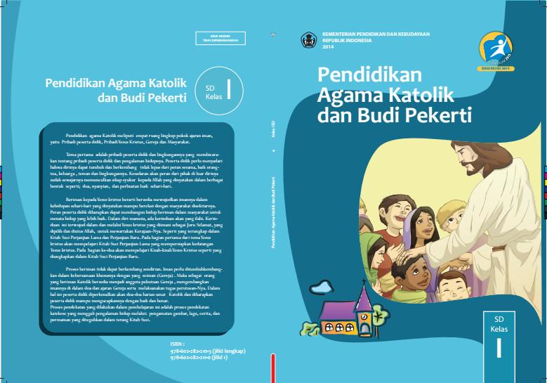 Download Gratis Buku Siswa Pendidikan Agama Katolik dan Budi Pekerti Kelas 1 SD Kurikulum 2013 Format PDF