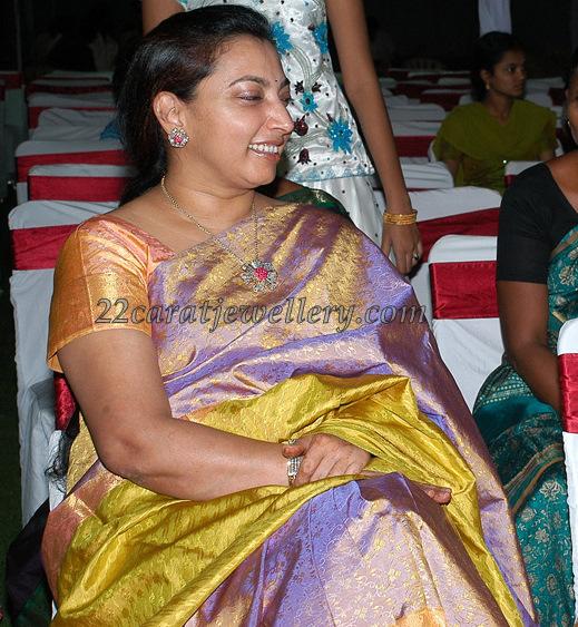 Balakrishna Wife In Platinum Jewelry Jewellery Designs