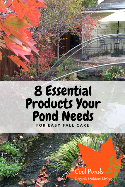 essential fall products for your pond