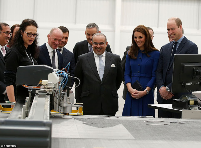 Kate i William w South Yorkshire