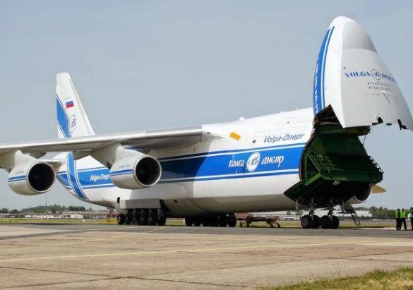 Antonov An-124 cargo payload