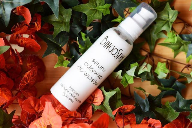 serum odżywka do włosów kolagen i komórki macierzyste cytrusów bingospa