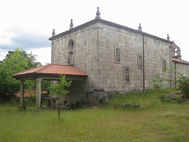 Ermita do Xurés en Lobios