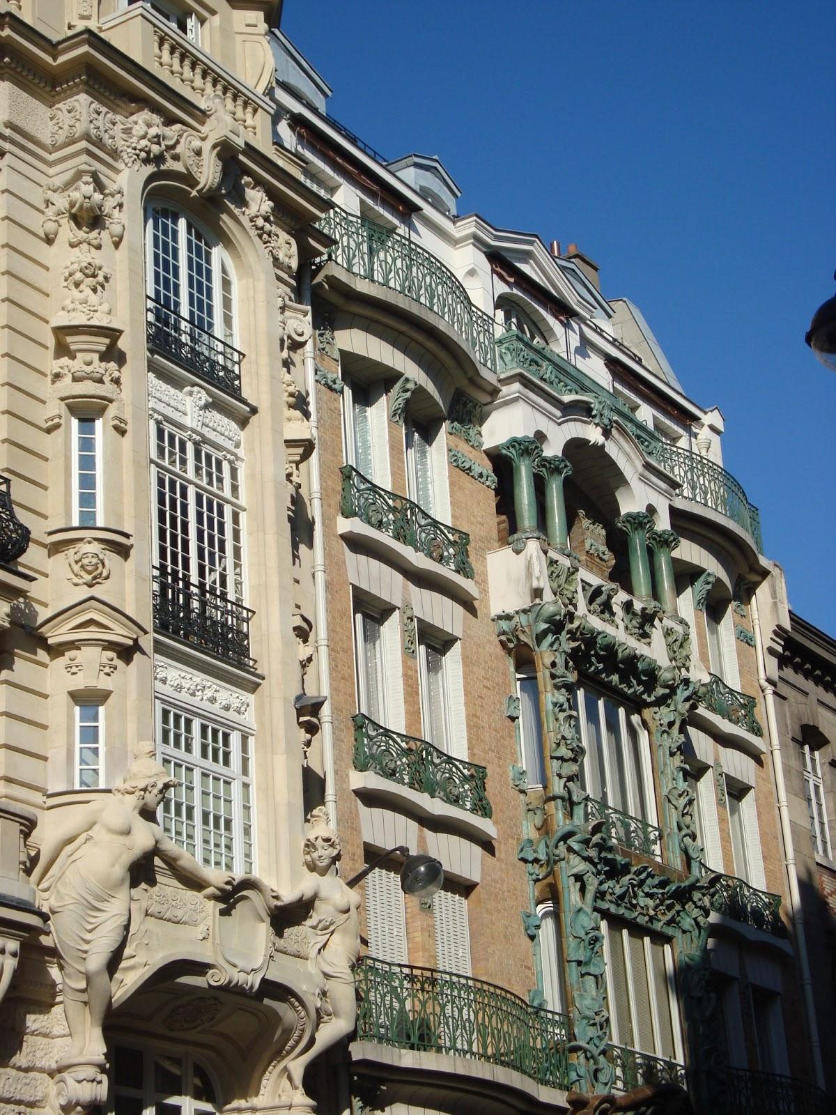 Paseos art nouveau 14 rue d 39 abbeville 10e alexandre for Architecte abbeville