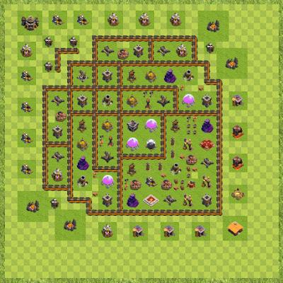 War Base Town Hall Level 10 By AK Kashyap (AK TH 10 Layout)